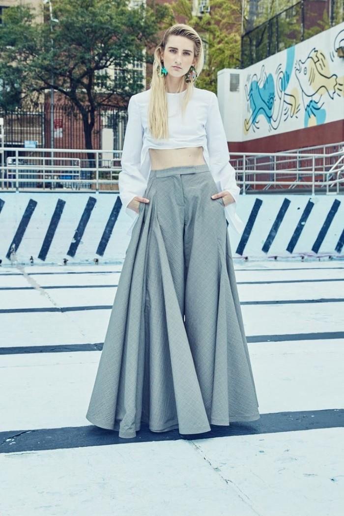 широкие летние брюки фото 7