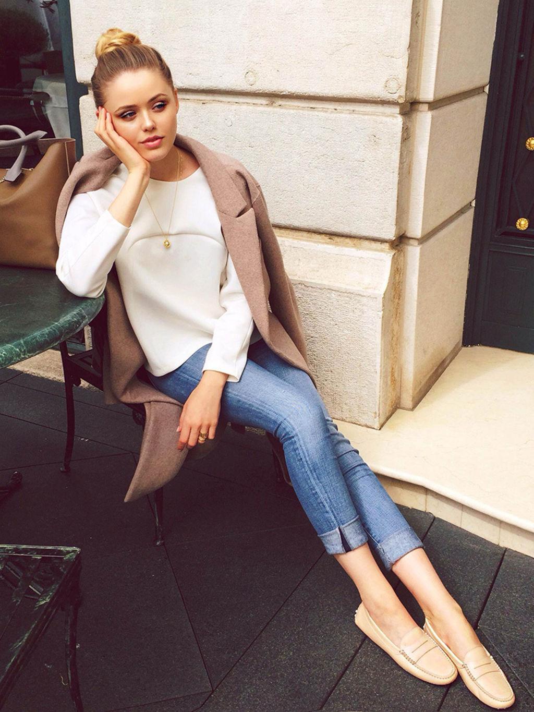 Мокасины с джинсами фото 8
