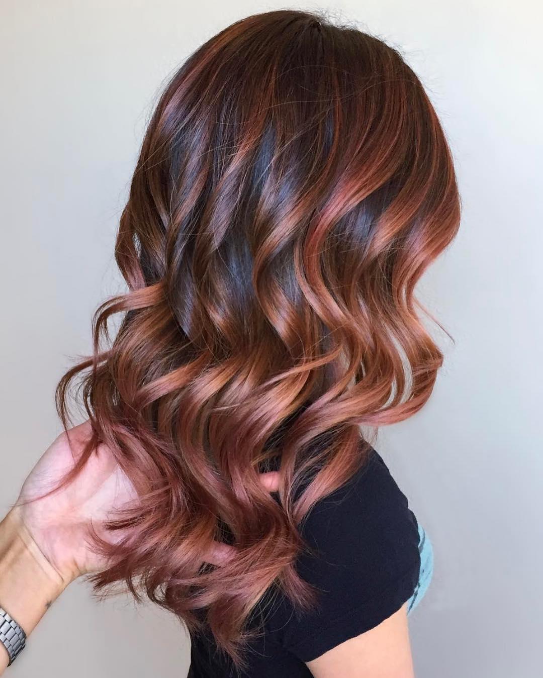 Каштановый цвет волос фото 3