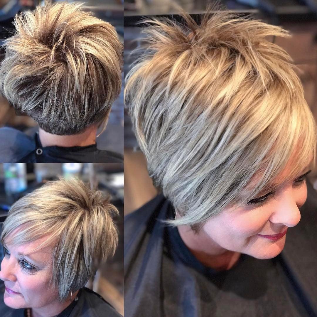 причёски с чёлкой для женщин после 50 фото 1