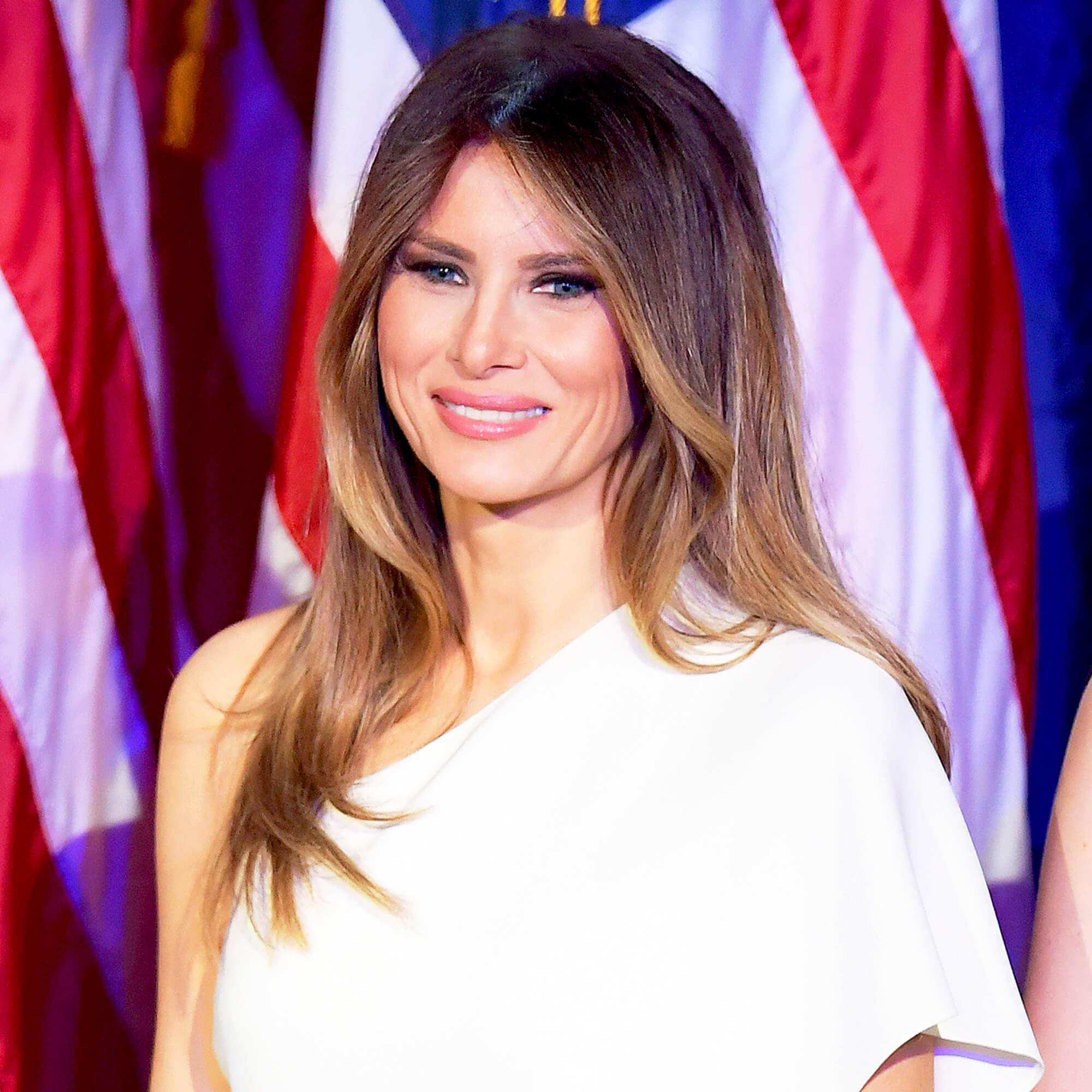 причёски Мелании Трамп фото 1