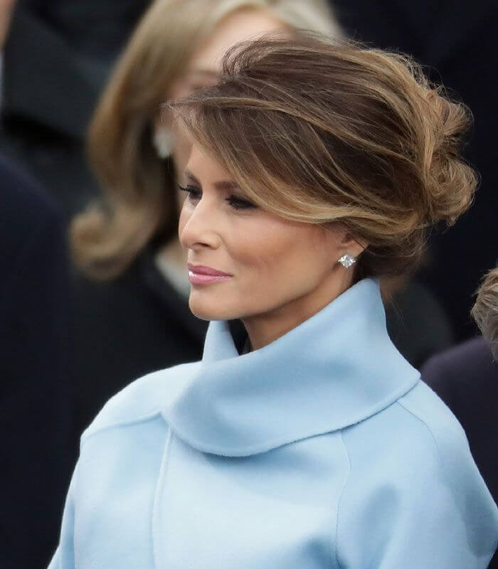 причёски Мелании Трамп фото 4