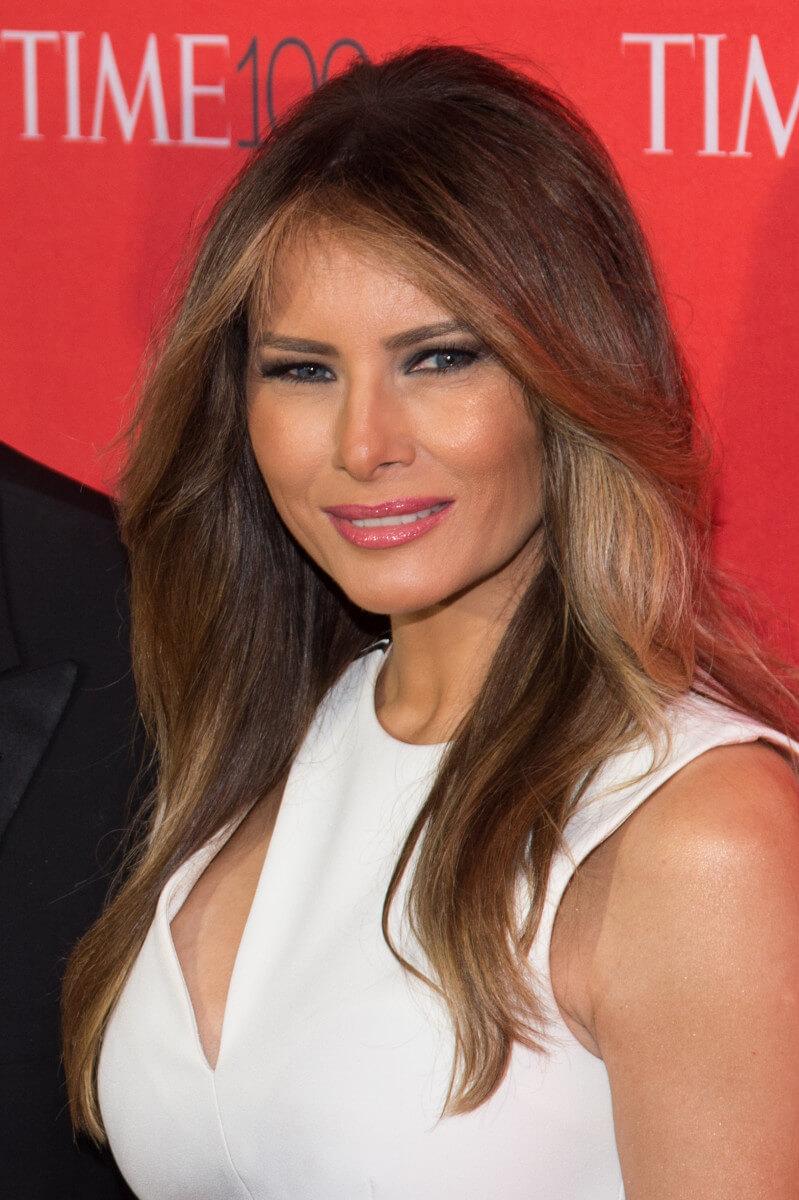 причёски Мелании Трамп фото 3
