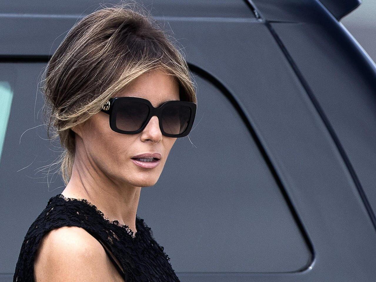 причёски Мелании Трамп фото 9