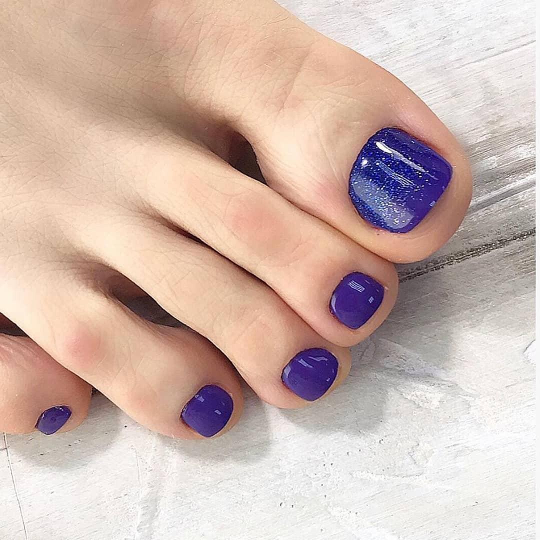 педикюр на короткие ногти_2