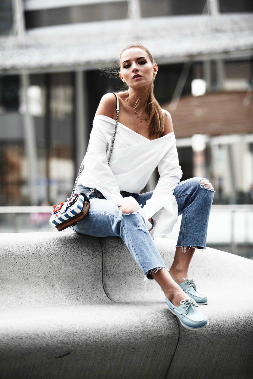 Мокасины с джинсами фото 4
