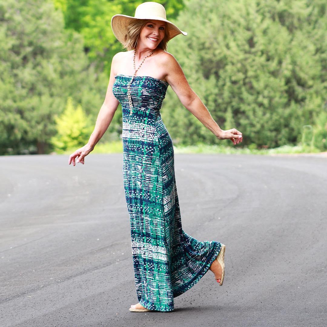 с чем носить сарафан летом женщинам после 40-50 лет фото 4