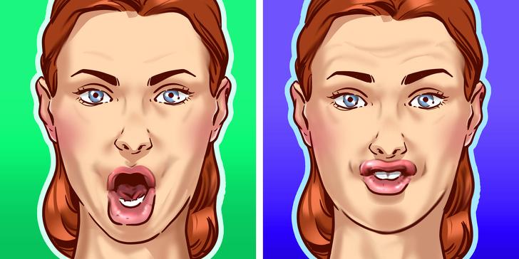 упражнения, чтобы избавиться от пухлых щек фото 2