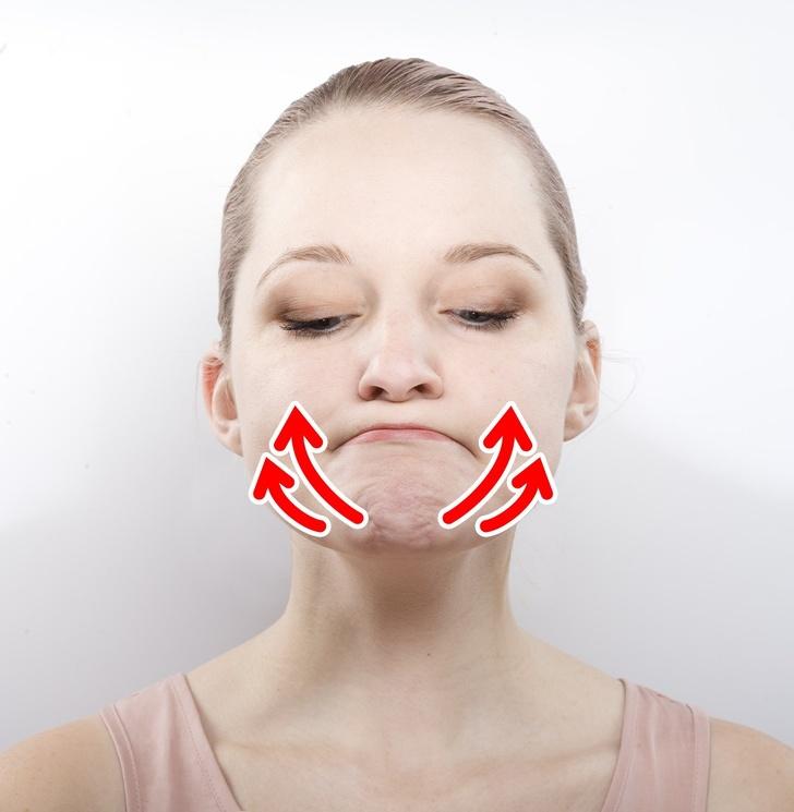 упражнения, чтобы избавиться от пухлых щек фото 5
