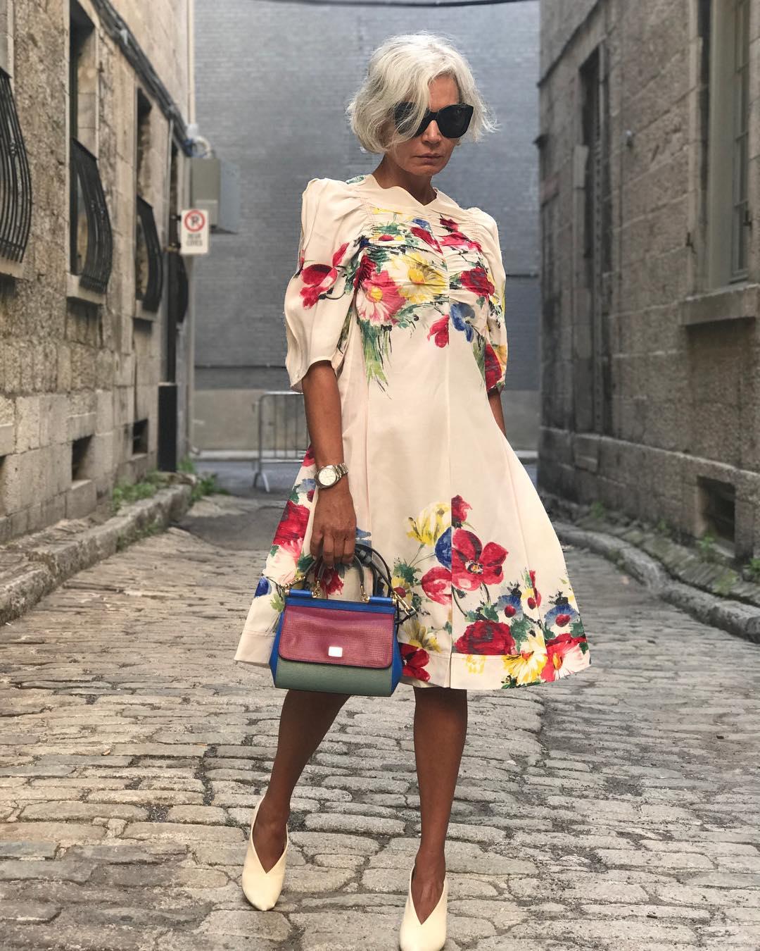 платье для женщины 60 лет фото 8