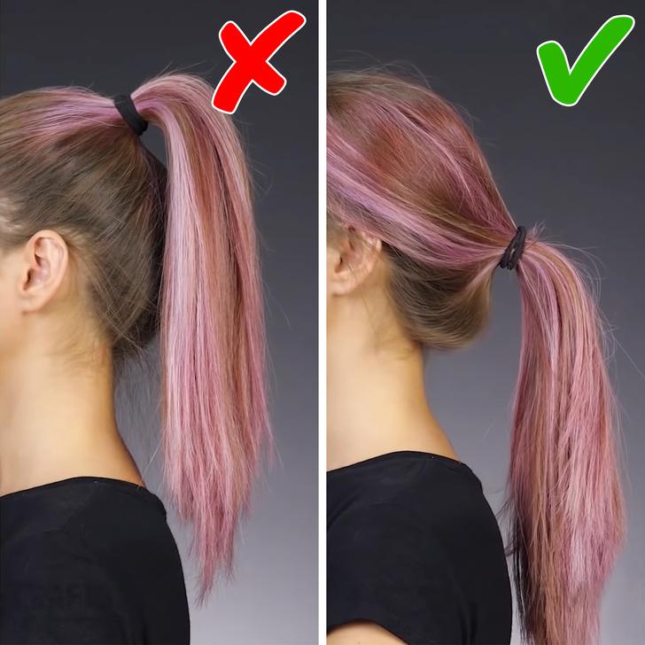 хитрости, чтобы сделать ваши волосы гуще фото 5