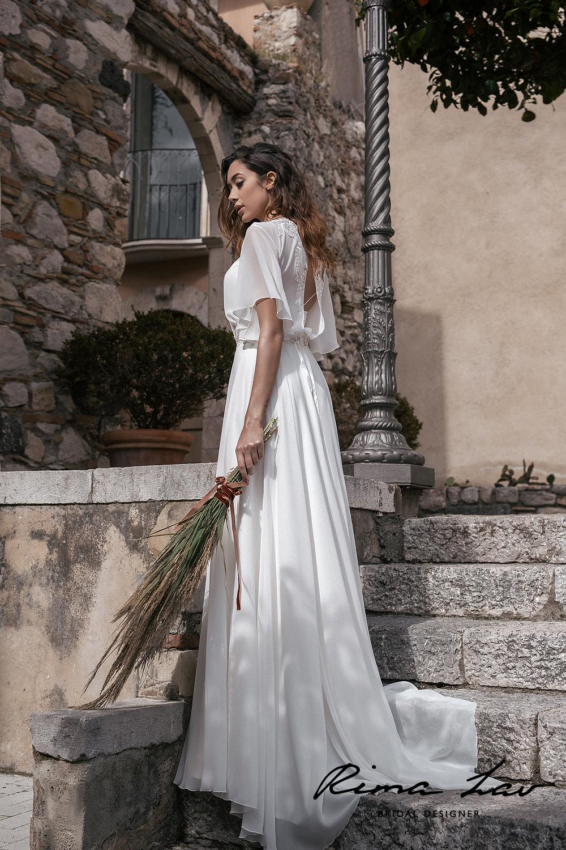 Свадебные платья лето 2019 фото 7