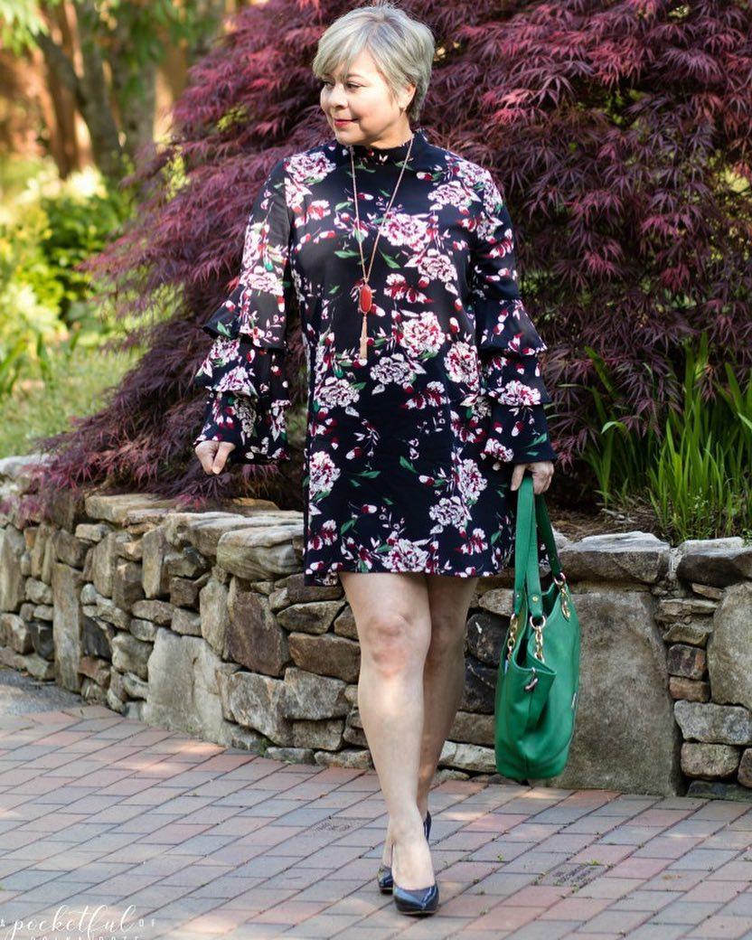 платье для женщины 60 лет фото 2