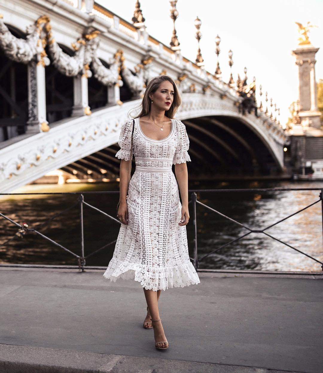 белое платье фото 17