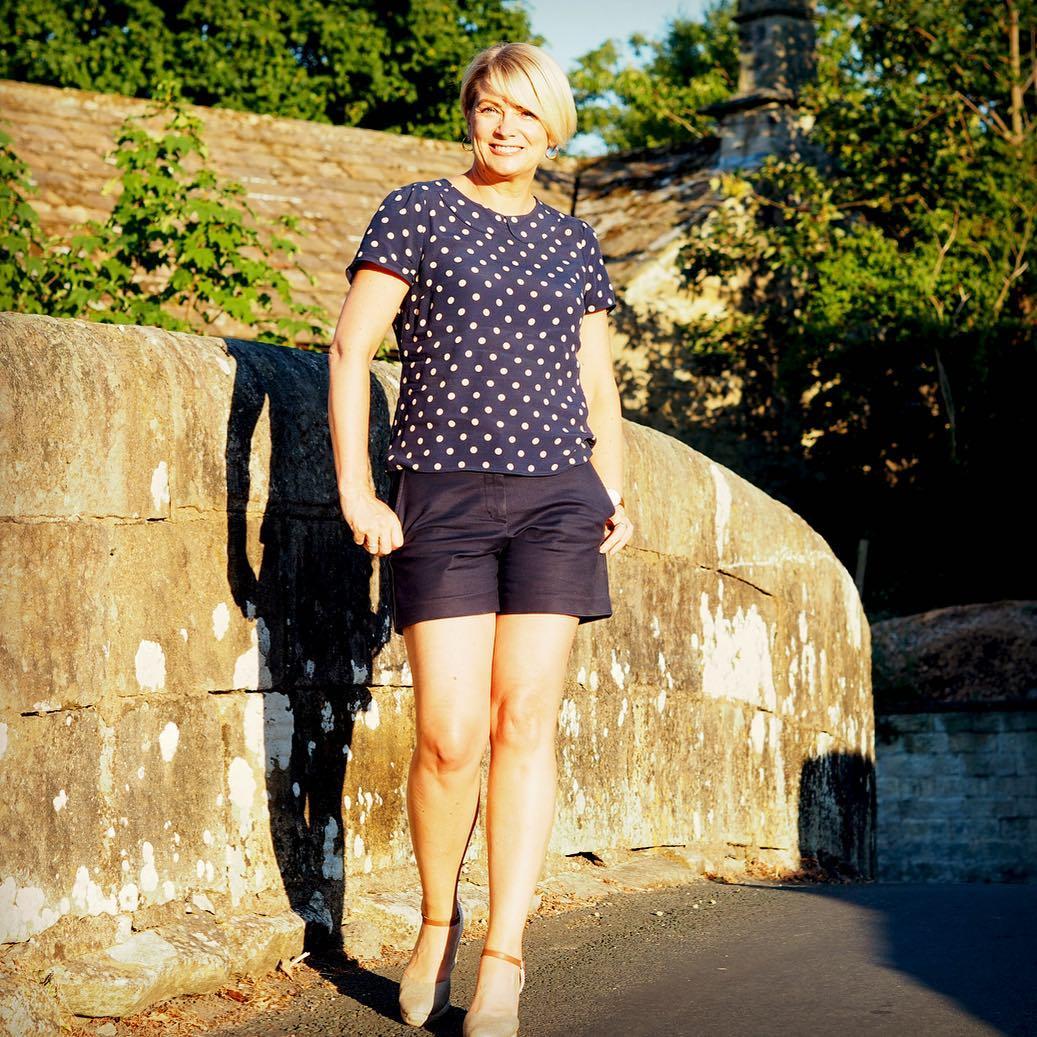с чем носить шорты летом женщинам после 40-50 лет фото 4