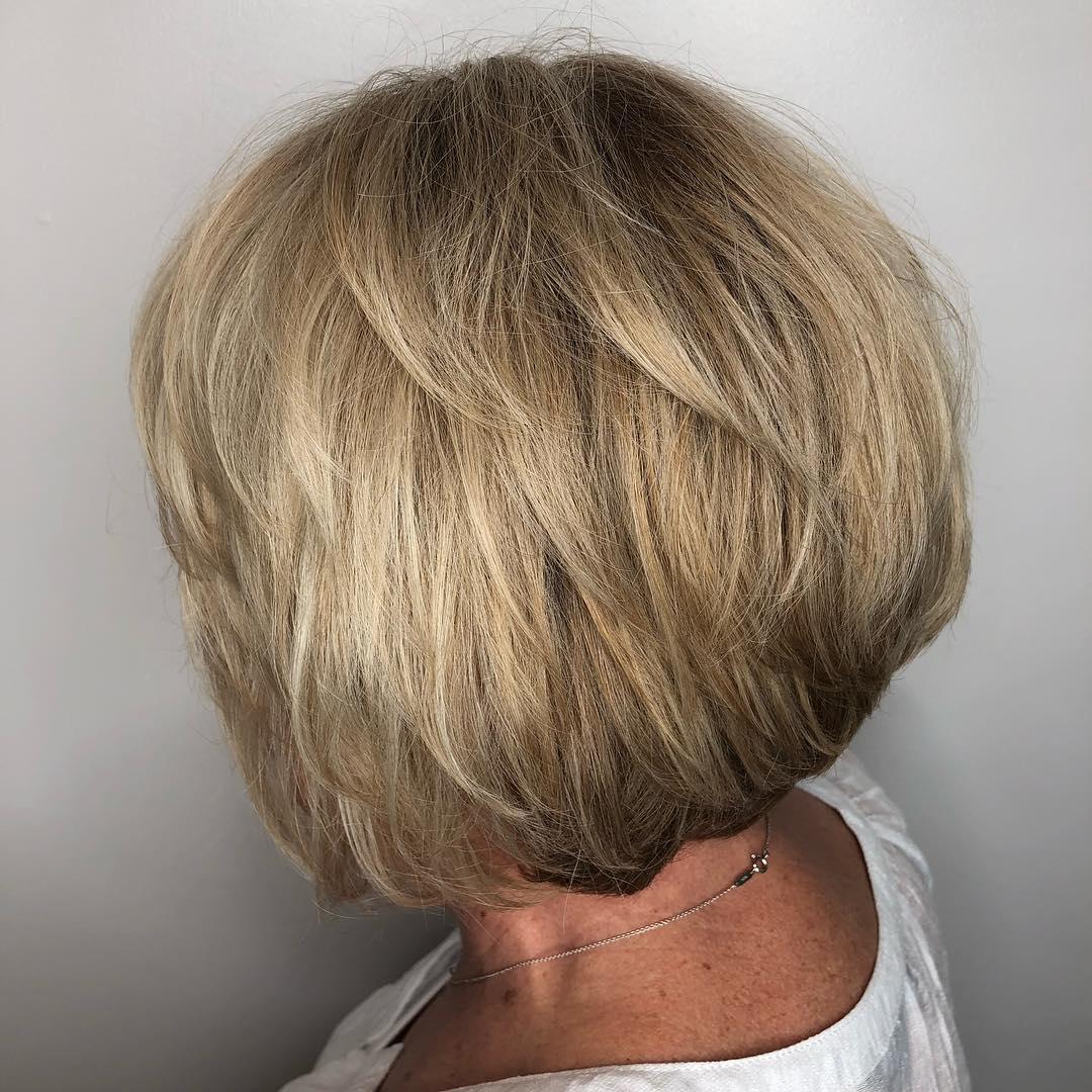 стрижки для женщин после 60 лет фото 4
