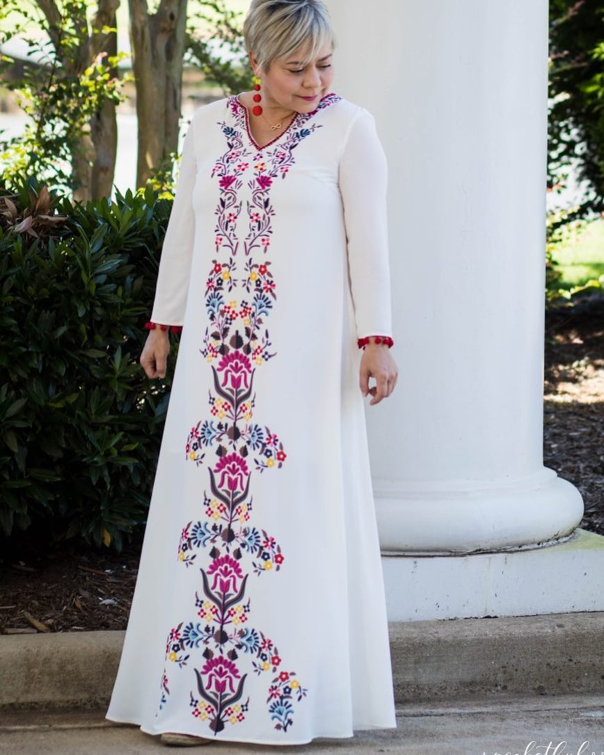 платье для женщины 60 лет фото 3