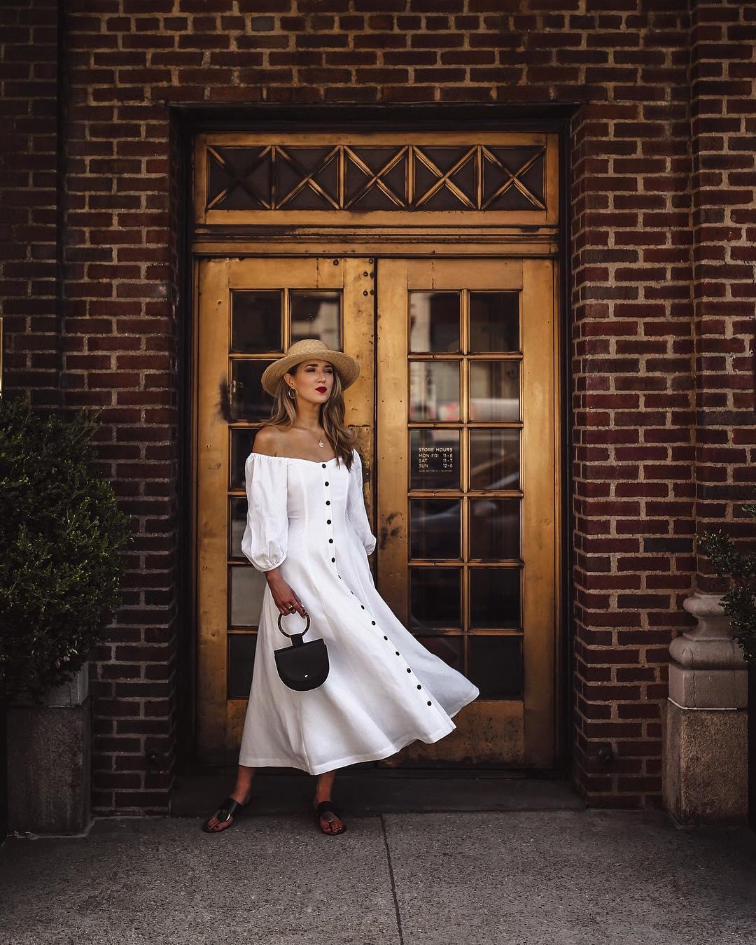 белое платье фото 18