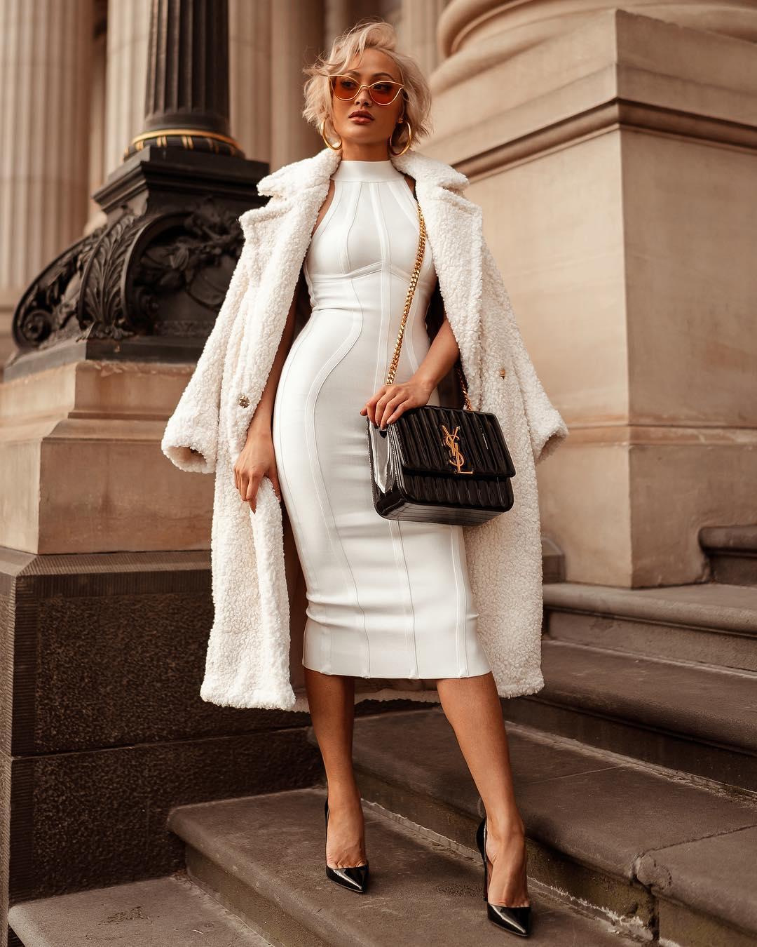 белое платье фото 1