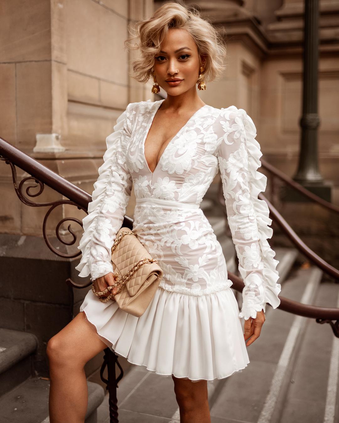 белое платье фото 2