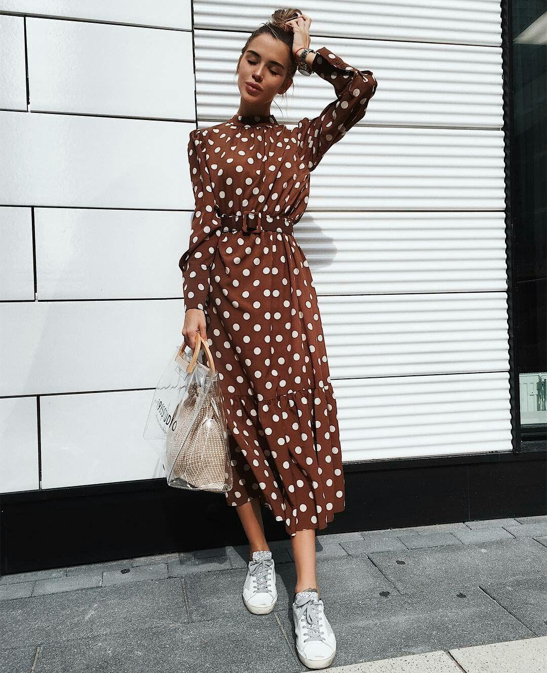 платье с кедами фото 3