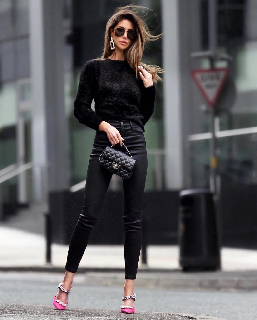 Черные джинсы фото 8