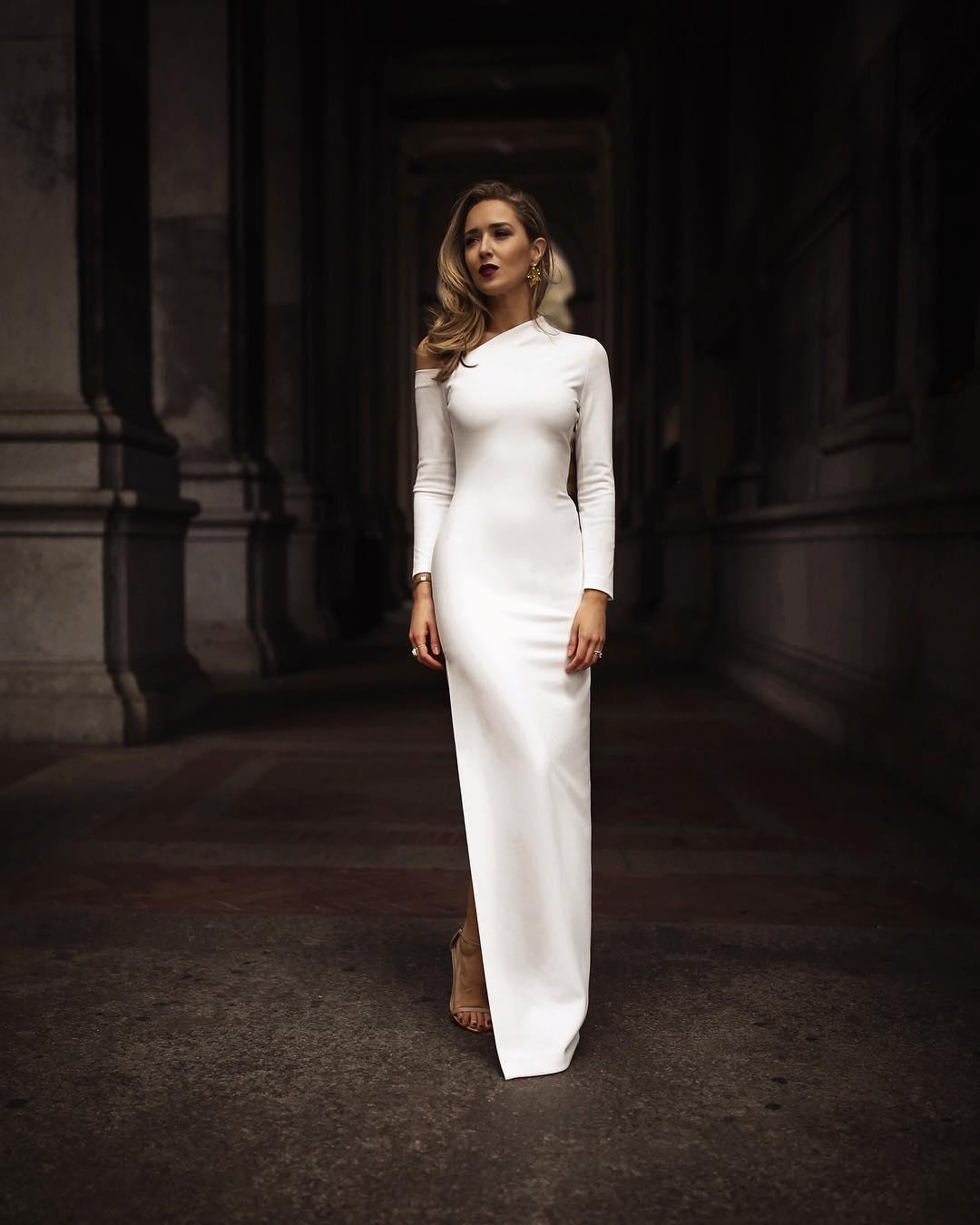 белое платье фото 19