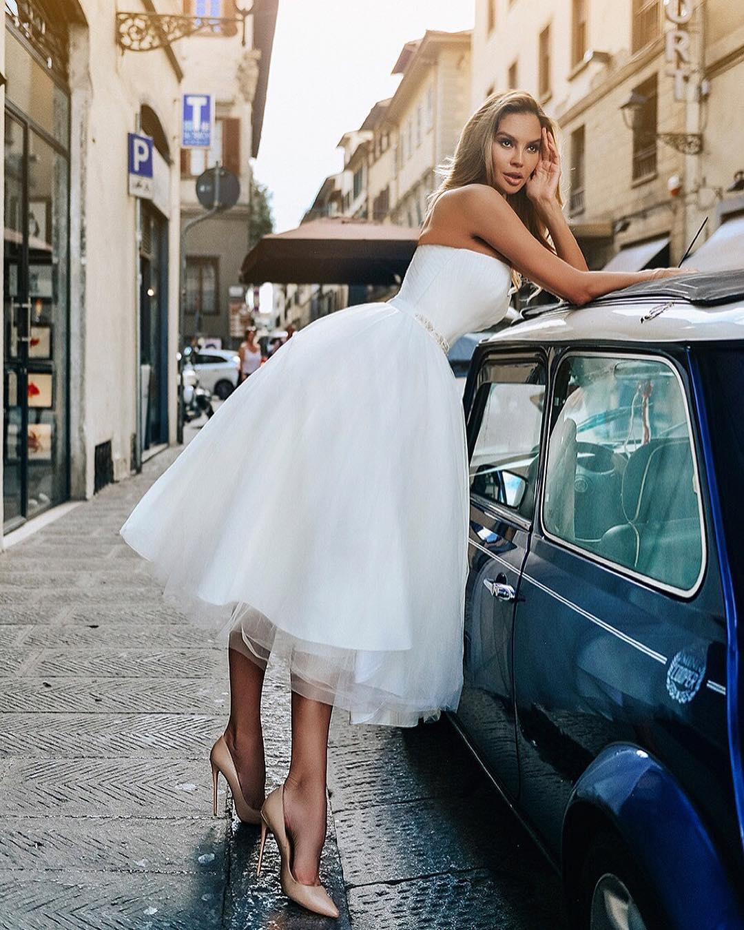 белое платье фото 24