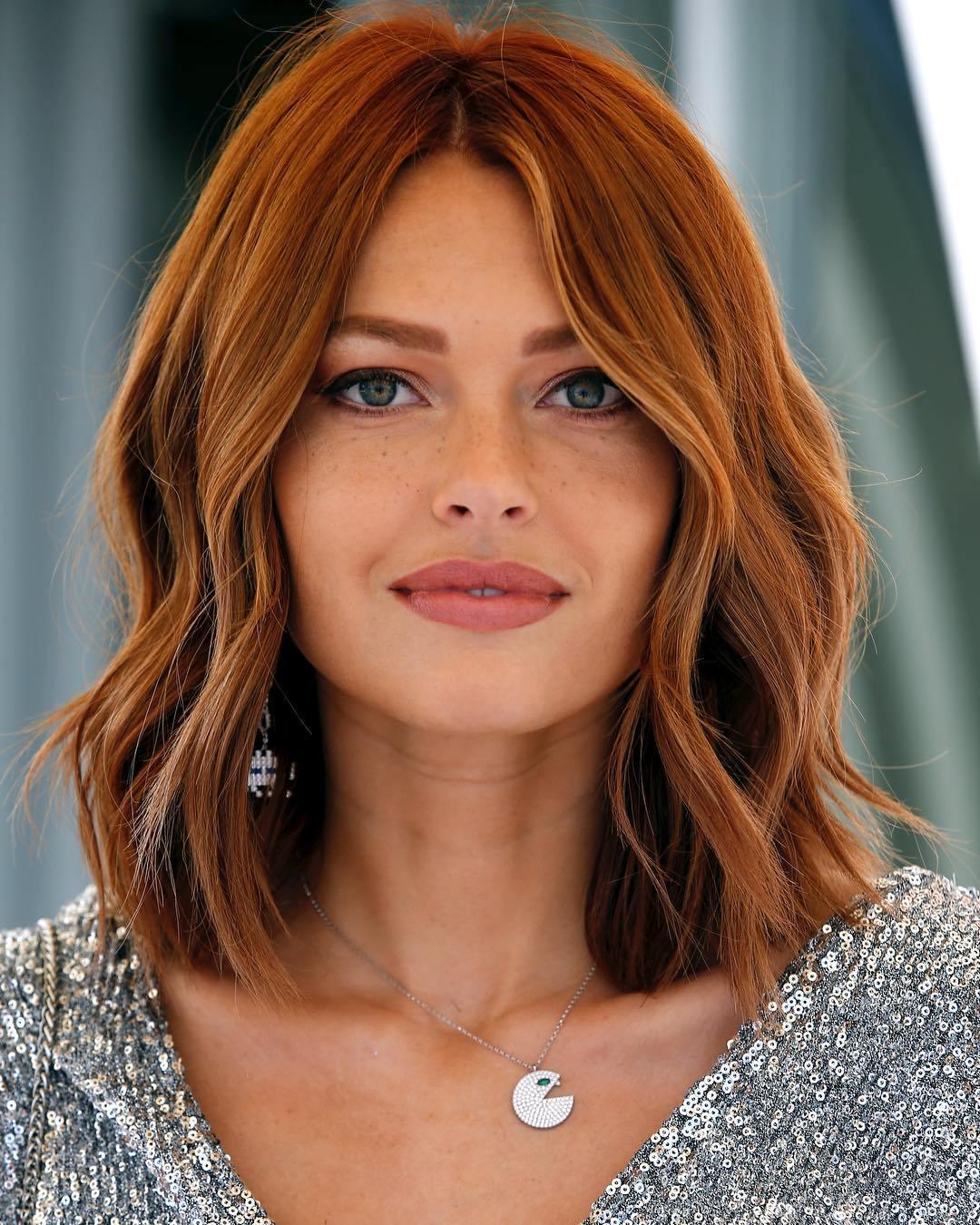 оттенки рыжих волос фото 6