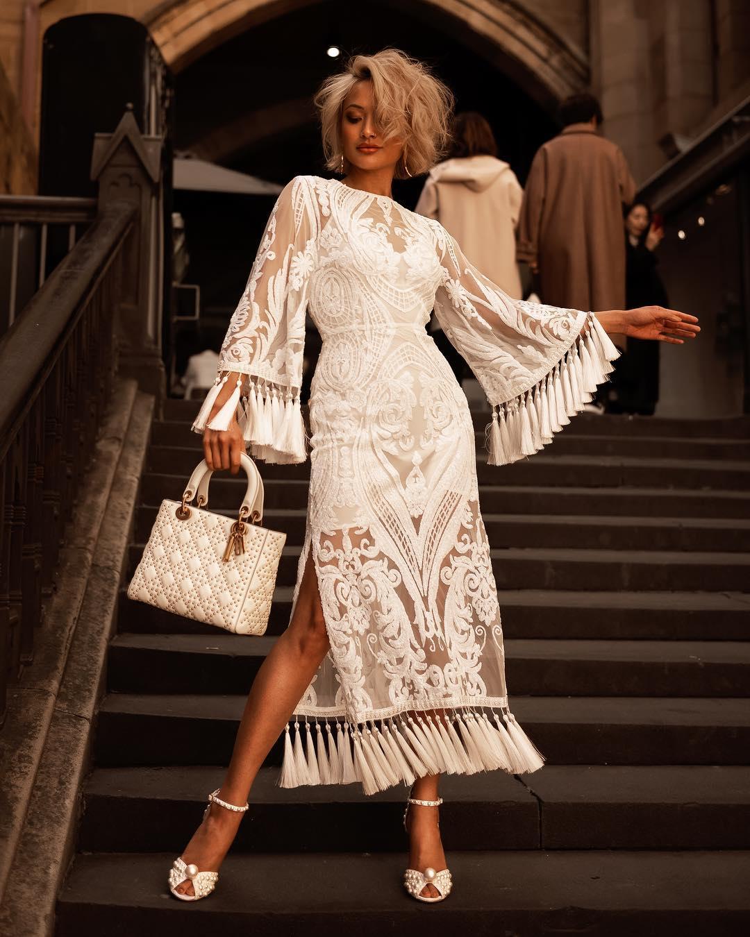 белое платье фото 6