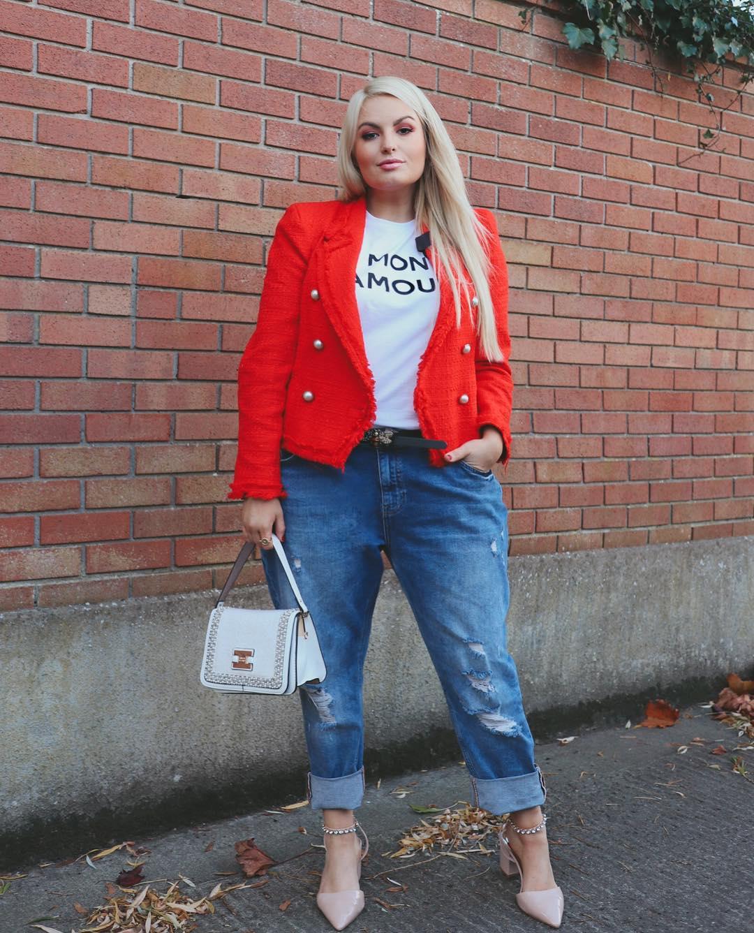 с чем носить джинсы летом полным женщинам фото 7