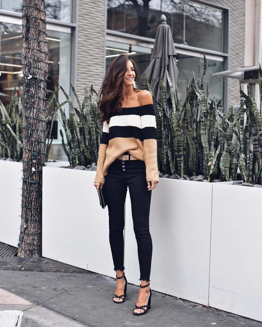 Черные джинсы фото 12