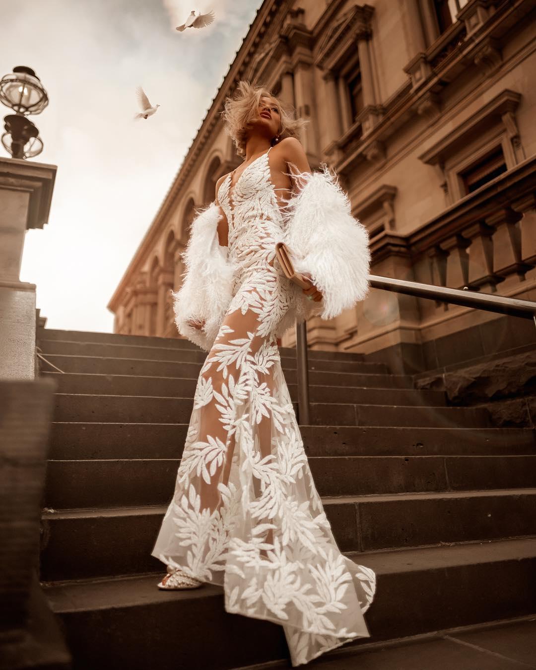 белое платье фото 7
