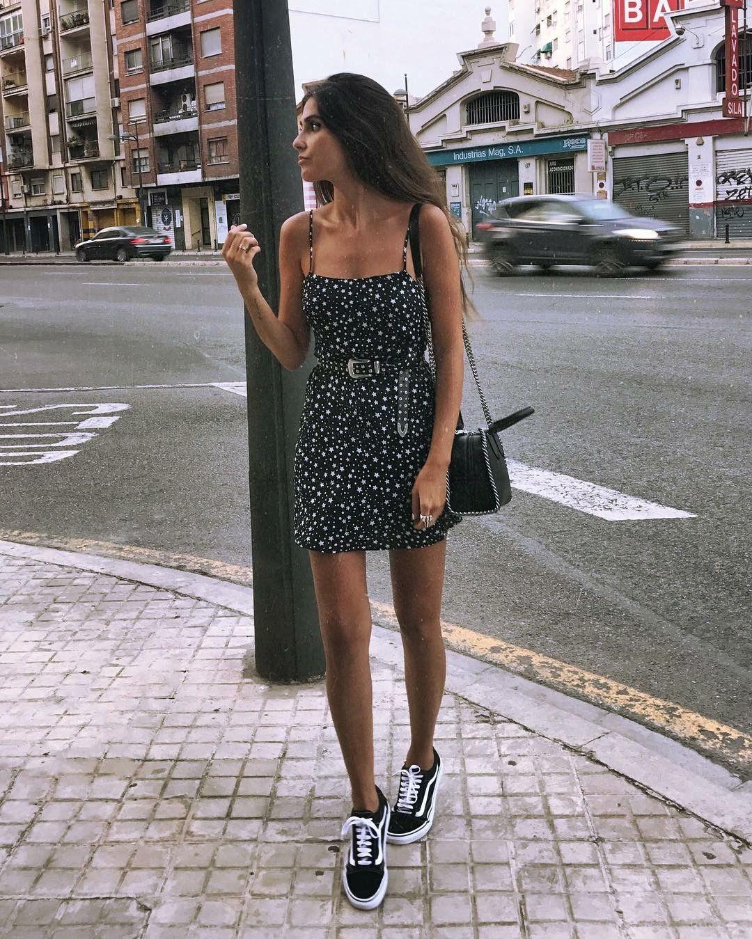 платье с кедами фото 6