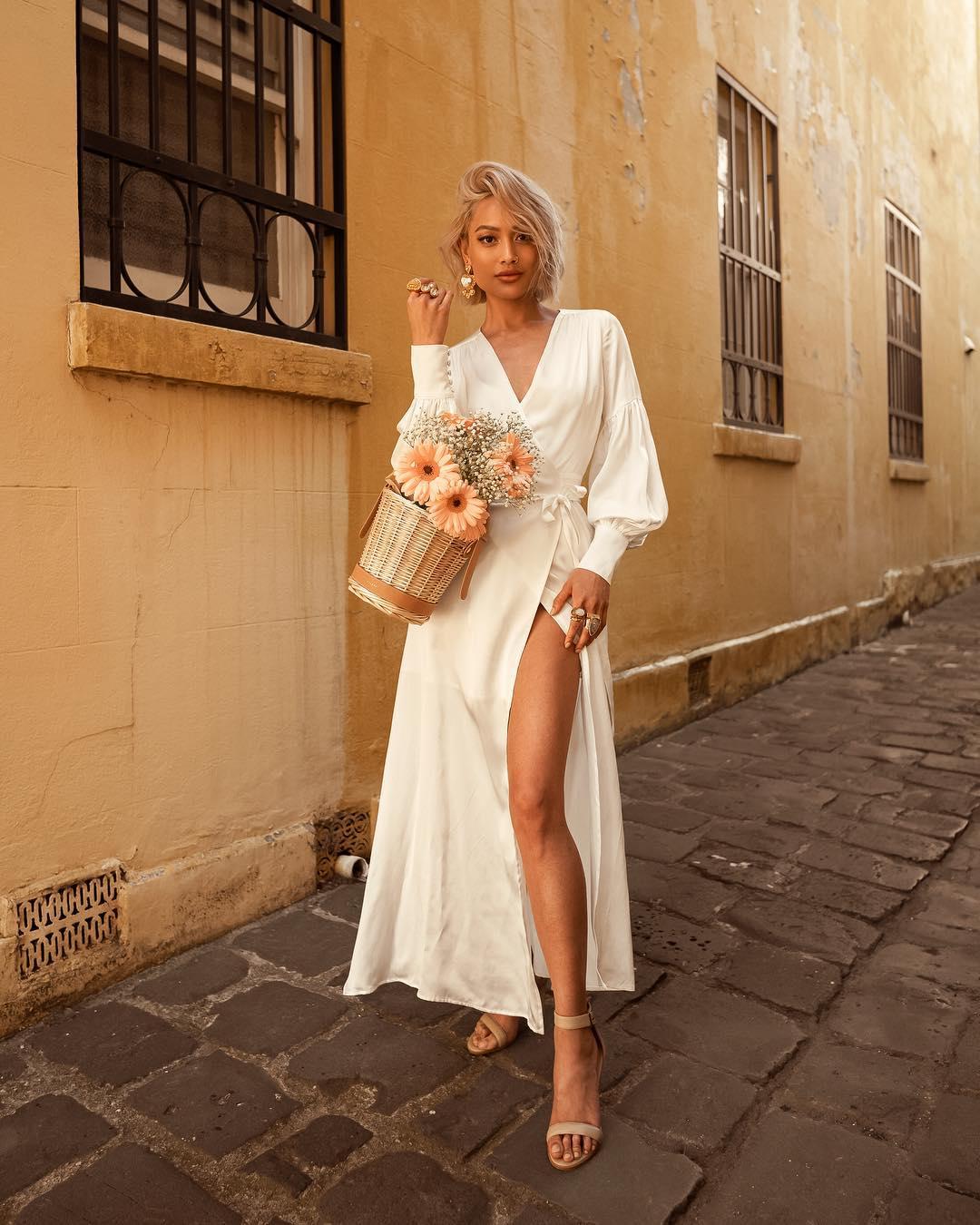 белое платье фото 10