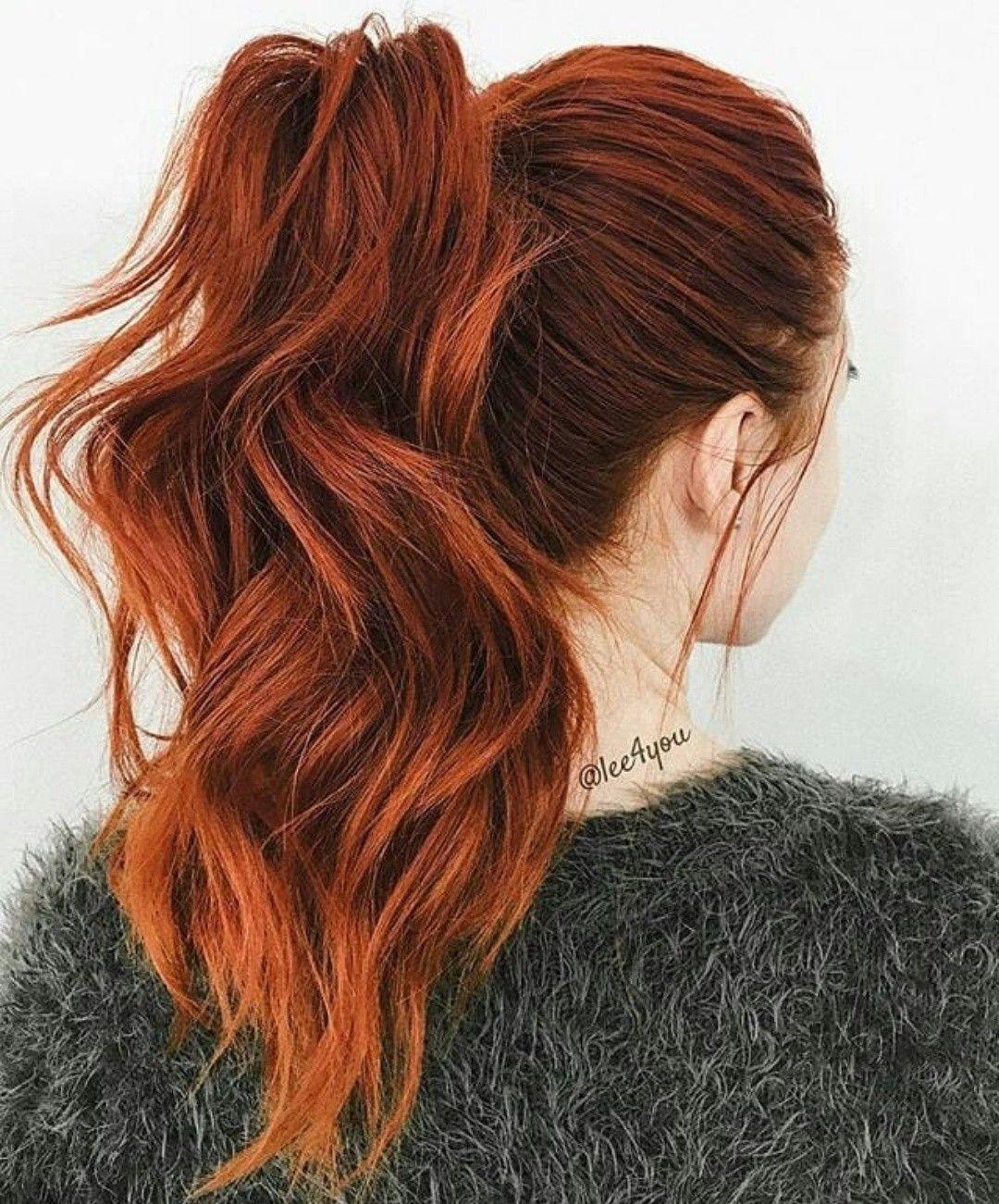 оттенки рыжих волос фото 12