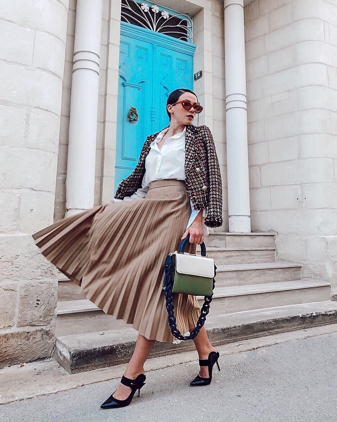 модный летние образы для бизнес-леди фото 7