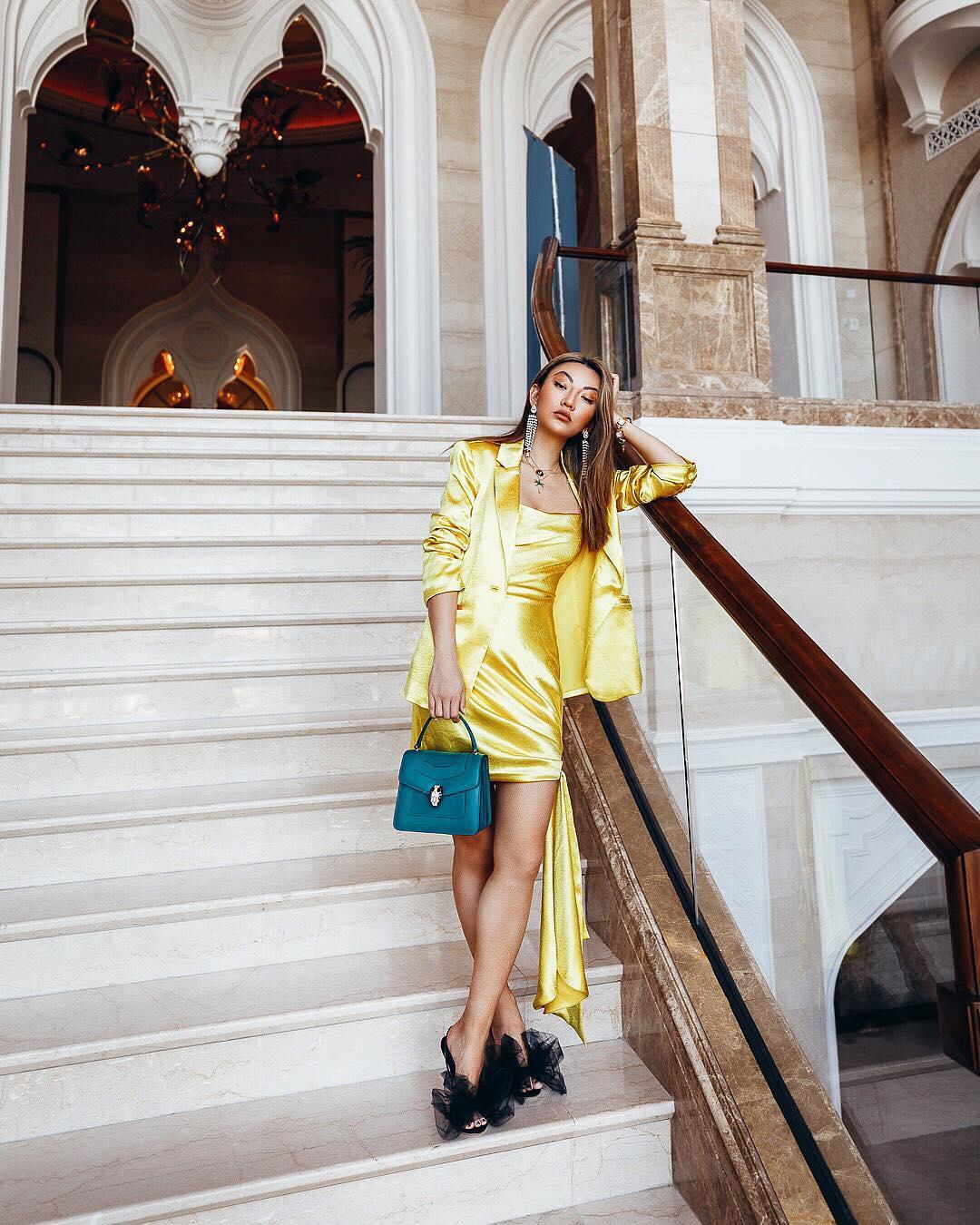 модный летние образы в желтом цвете фото 8