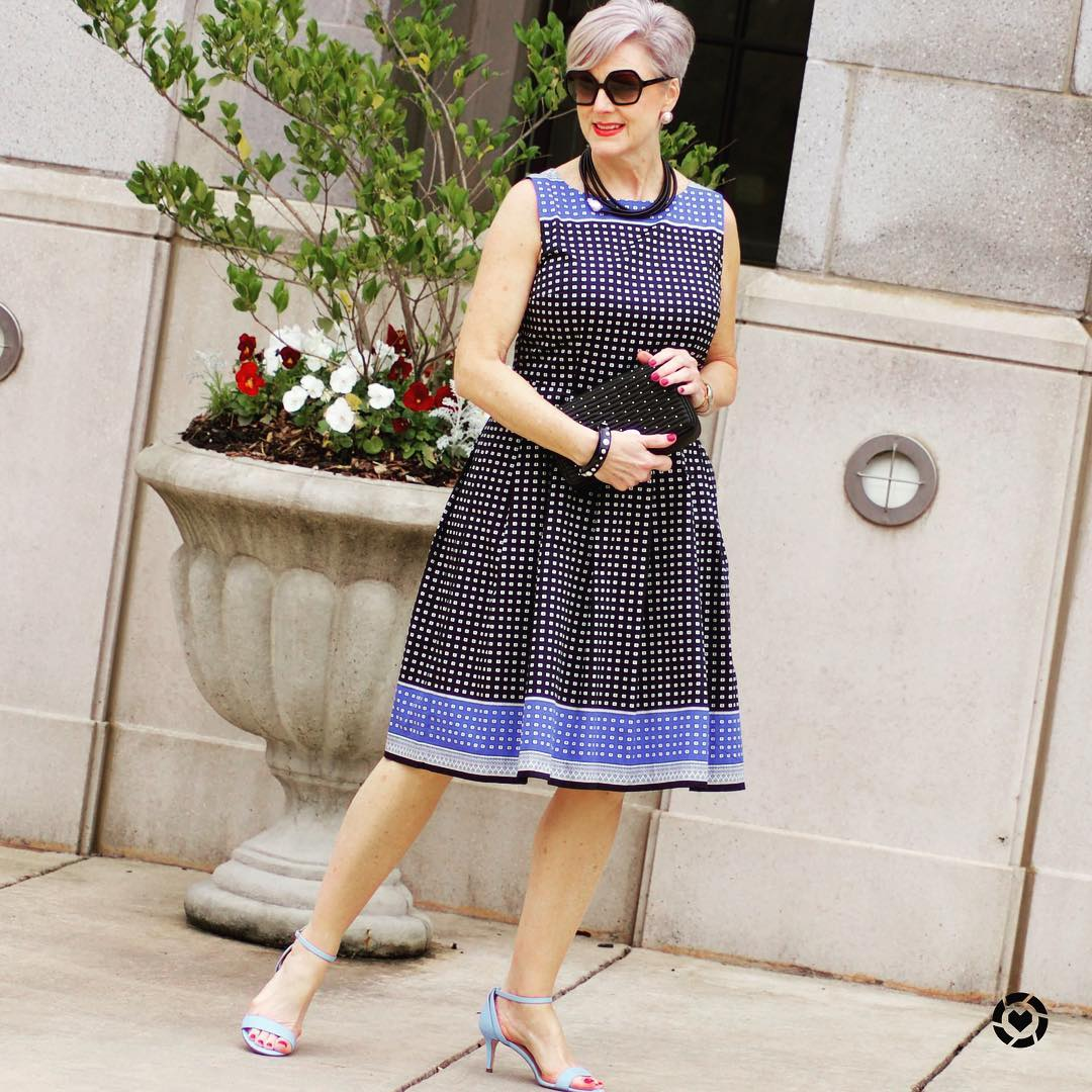 платье для женщины 60 лет фото 12