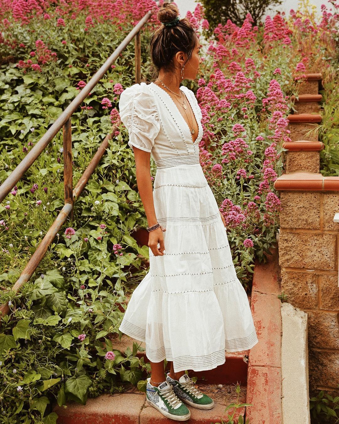 платье с кедами фото 2
