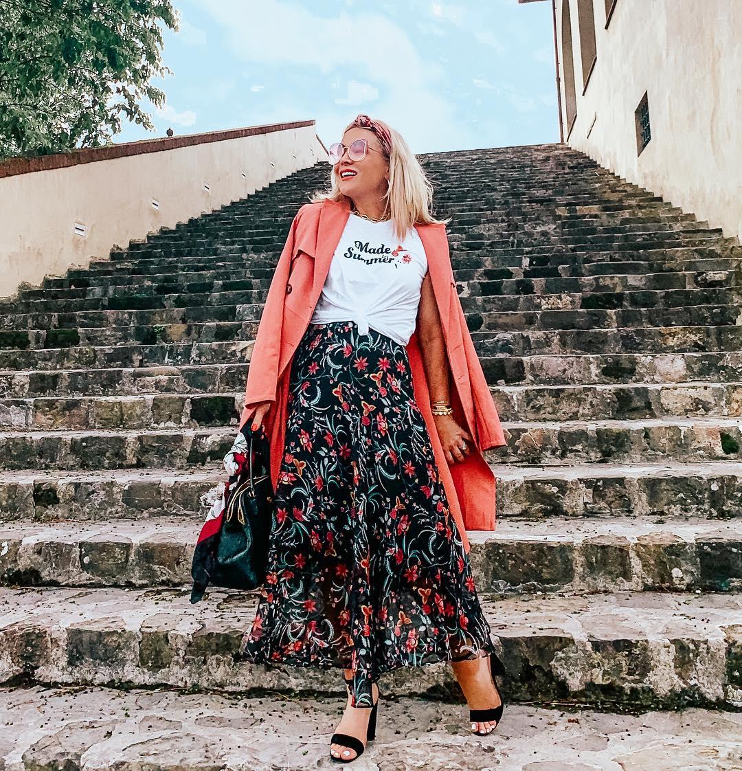 летний уличный стиль 2019 для женщин 40-50 лет фото 2