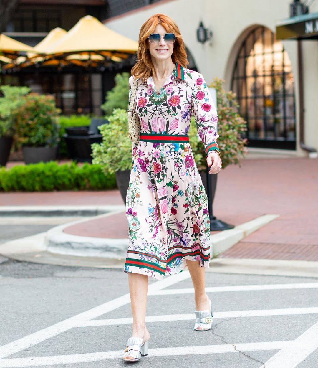 с чем носить платье летом женщинам после 40-50 лет фото 10