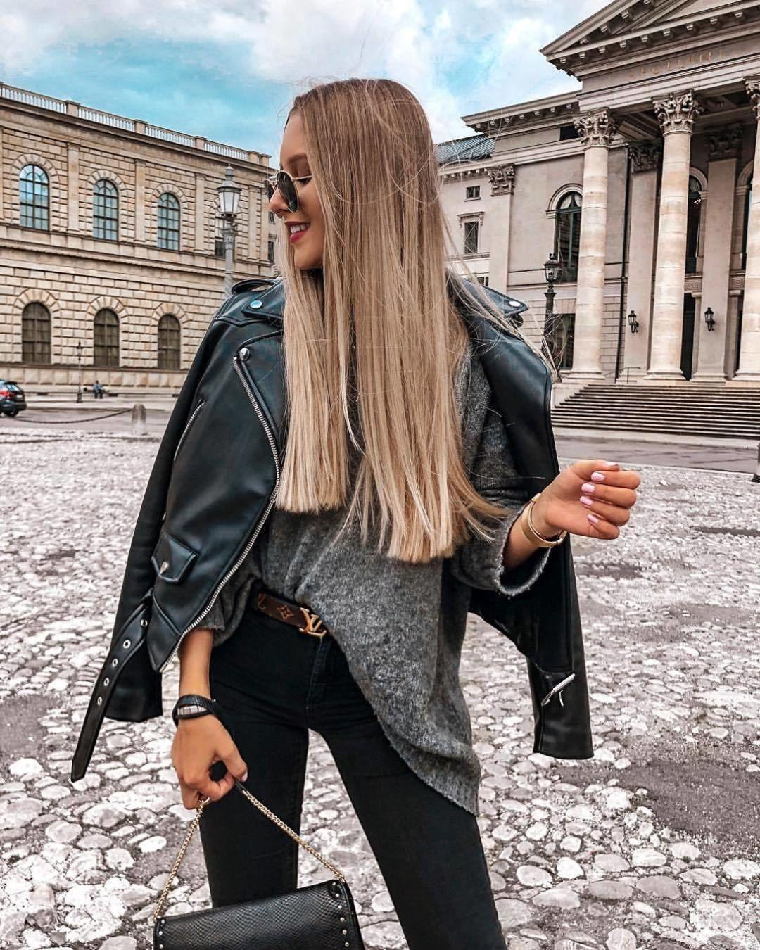 Черные джинсы фото 15