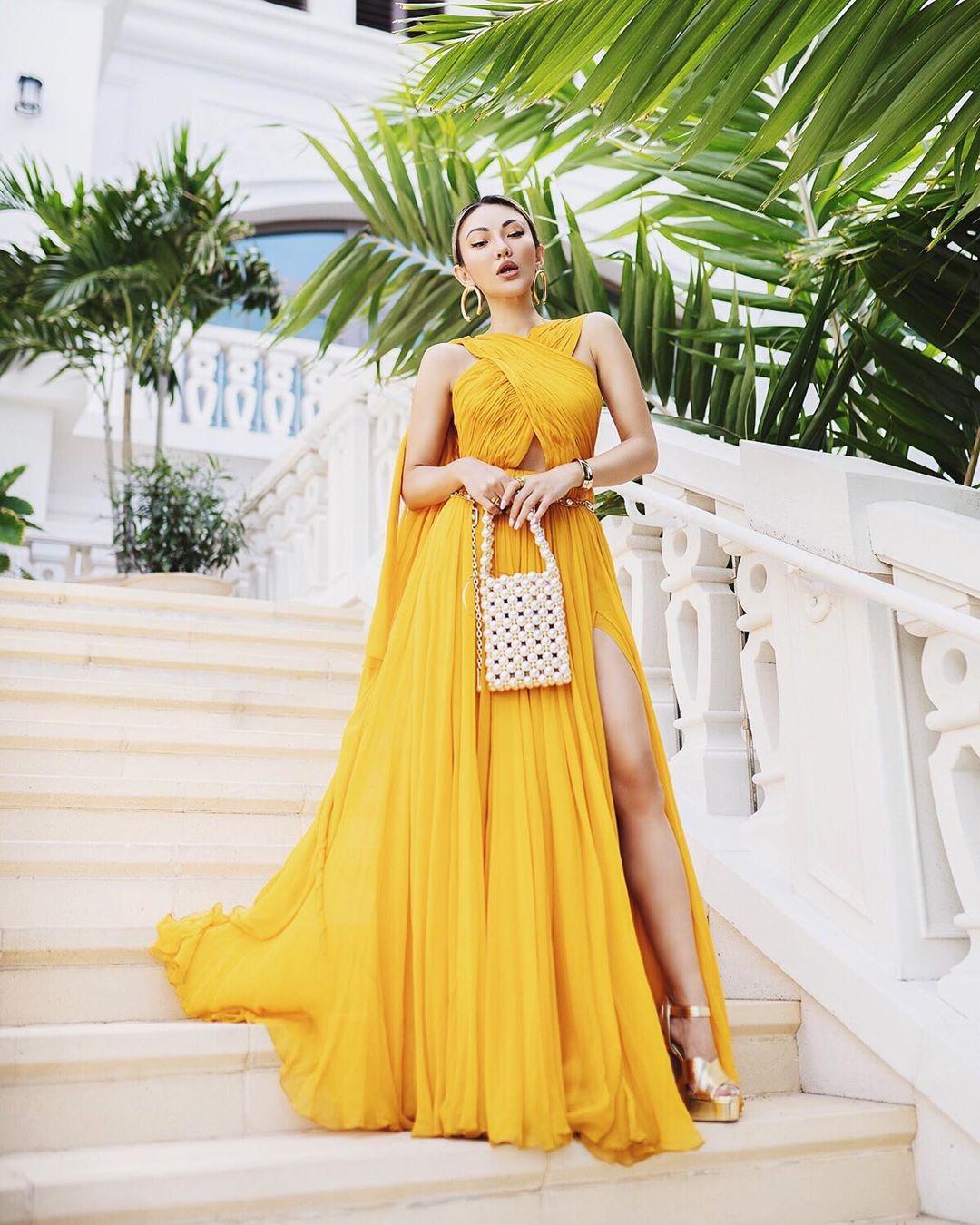 модный летние образы в желтом цвете фото 10
