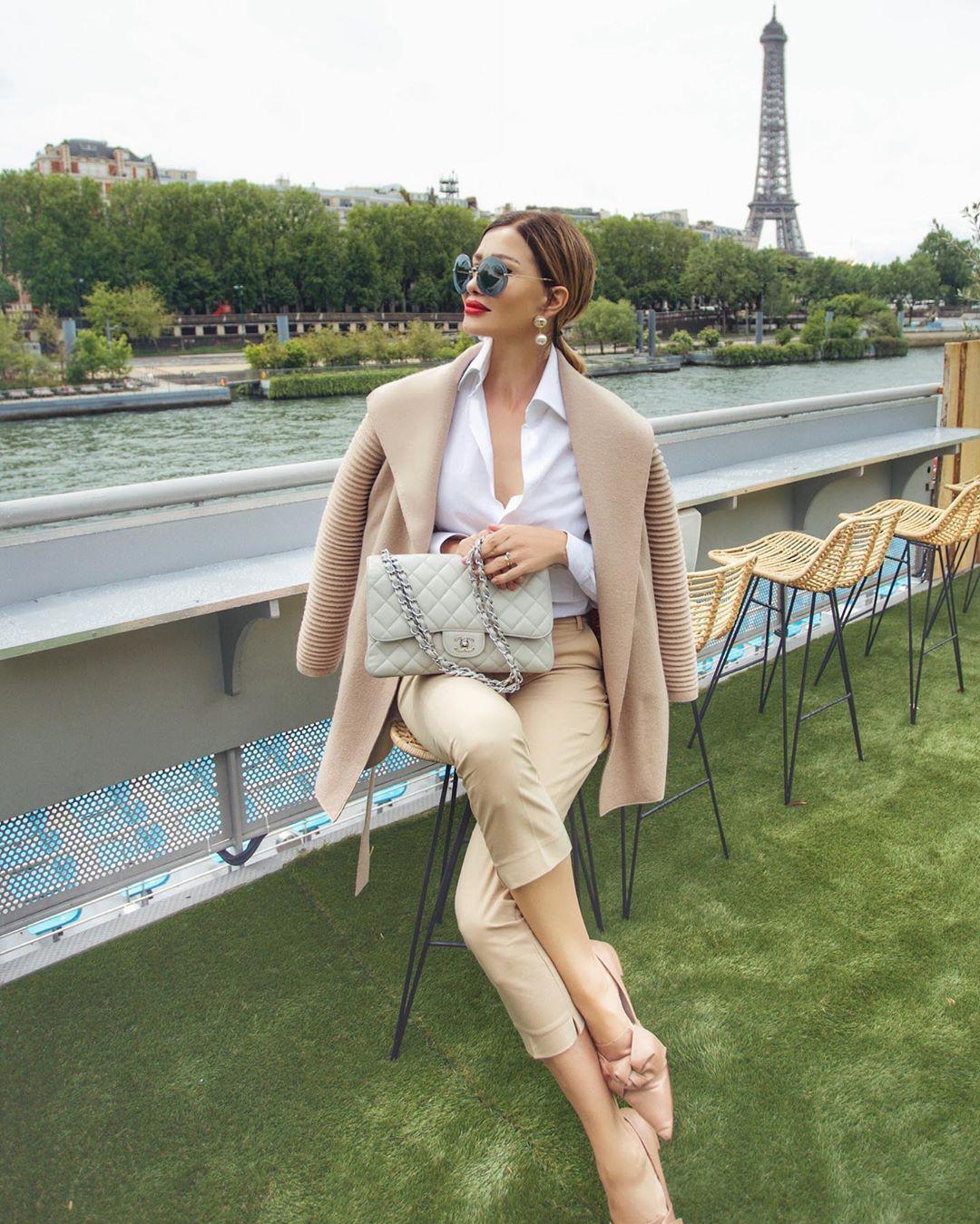 Французский шик 2019 для женщин 40-50 лет фото 10