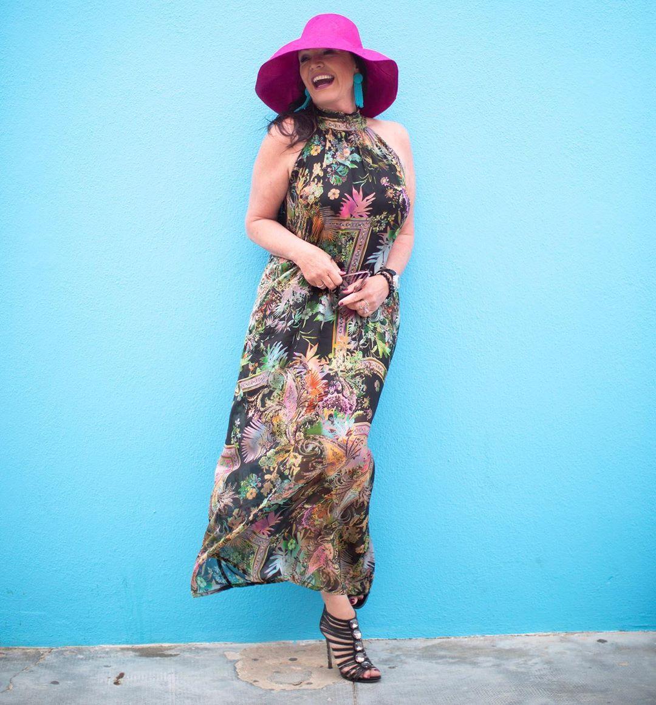 с чем носить сарафан летом женщинам после 40-50 лет фото 9