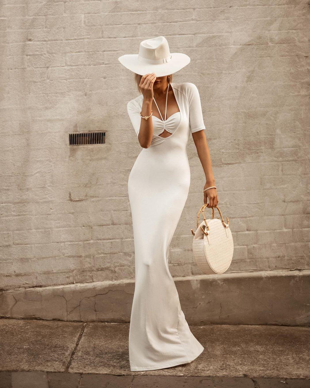 белое платье фото 15