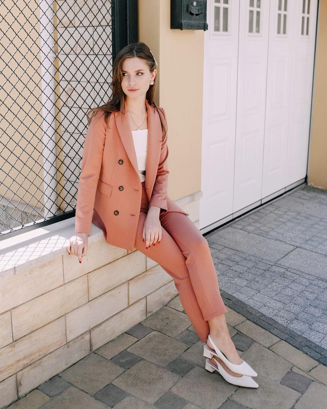 модный летние образы для деловых женщин фото 6