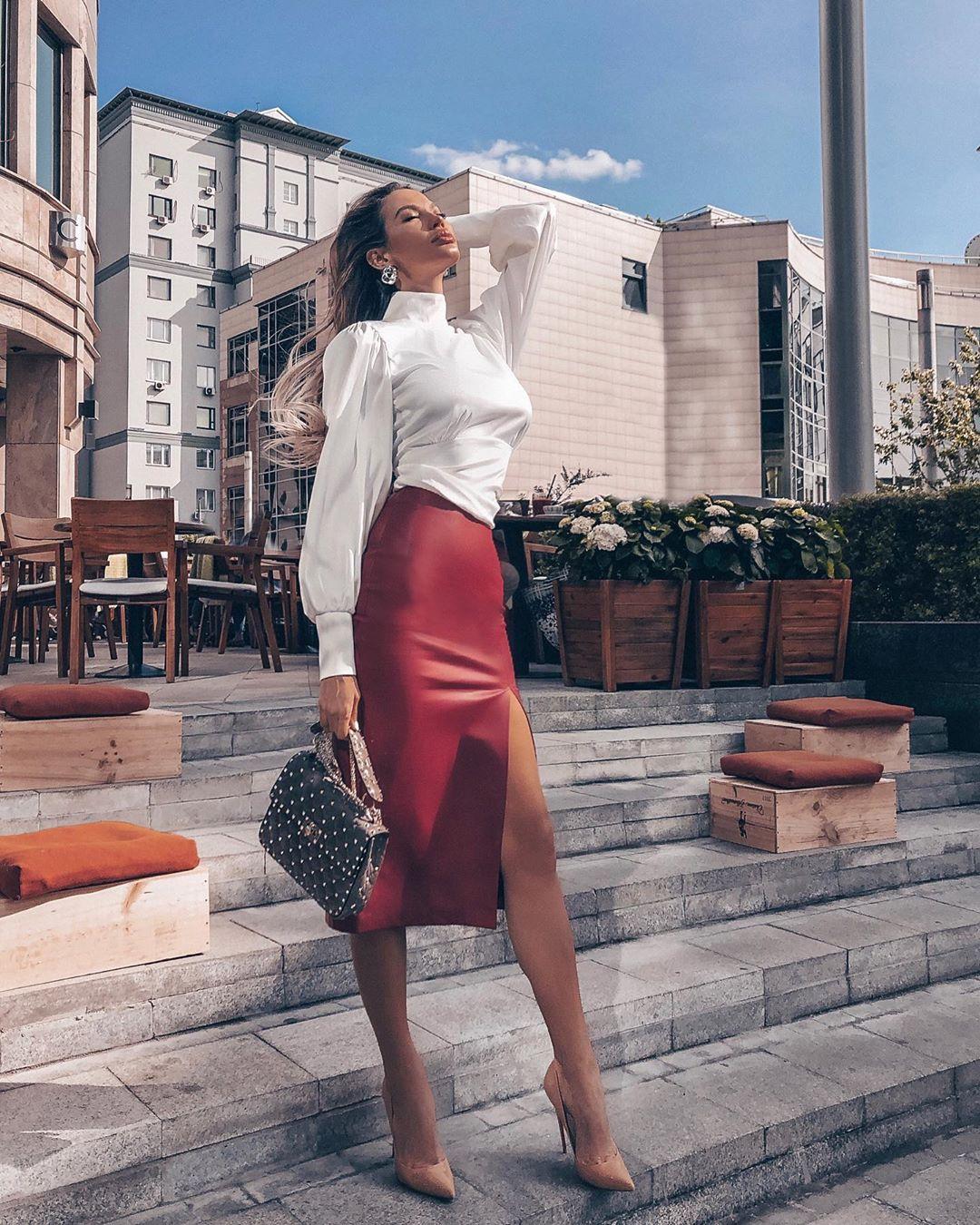 модный летние образы для деловых женщин фото 1