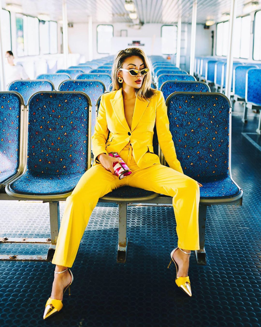 модный летние образы в желтом цвете фото 13